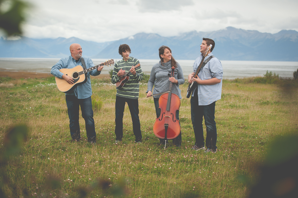 anchorage alaska musician family photography