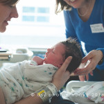 anchorage alaska newborn hospital photography