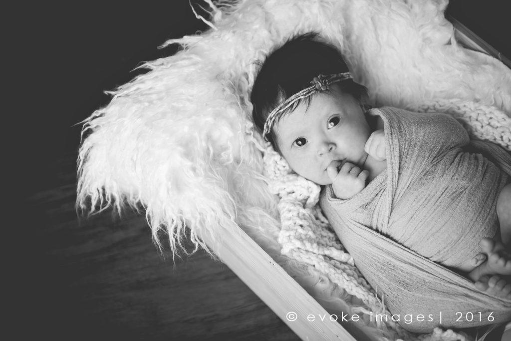 Anchorage Alaska Newborn baby photograph