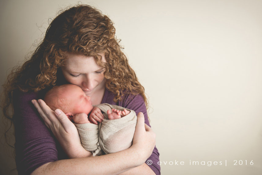 alaska newborn baby with mom