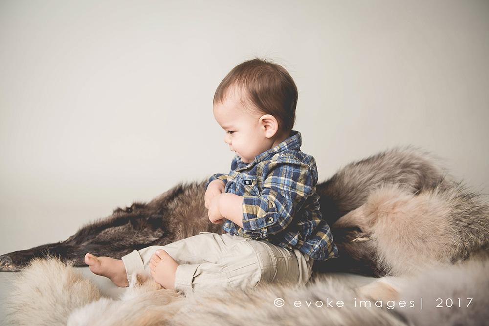 Anchorage Alaska Cake Smash 1 Year Old Baby Photography Evoke