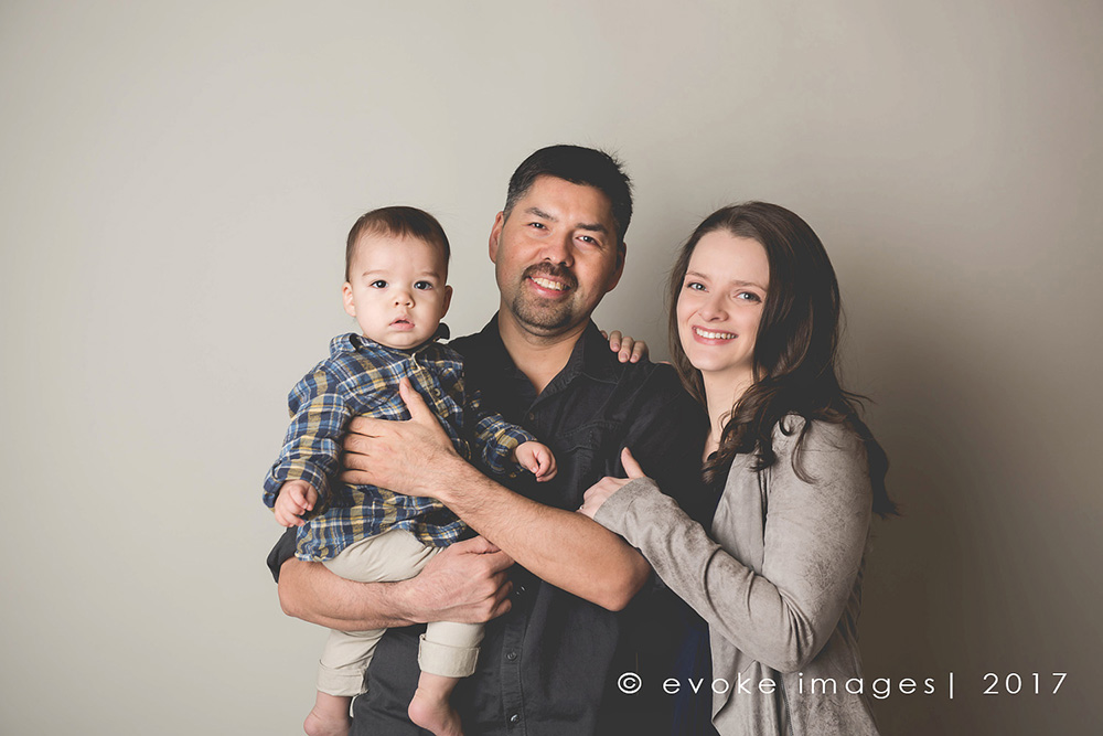 Family photo anchorage Alaska studio