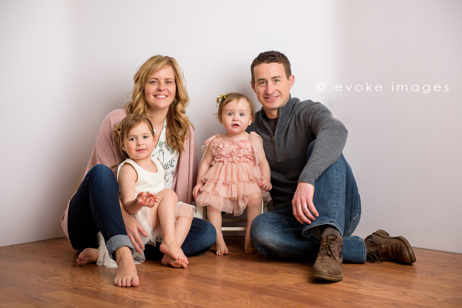 anchorage Alaska studio family portrait