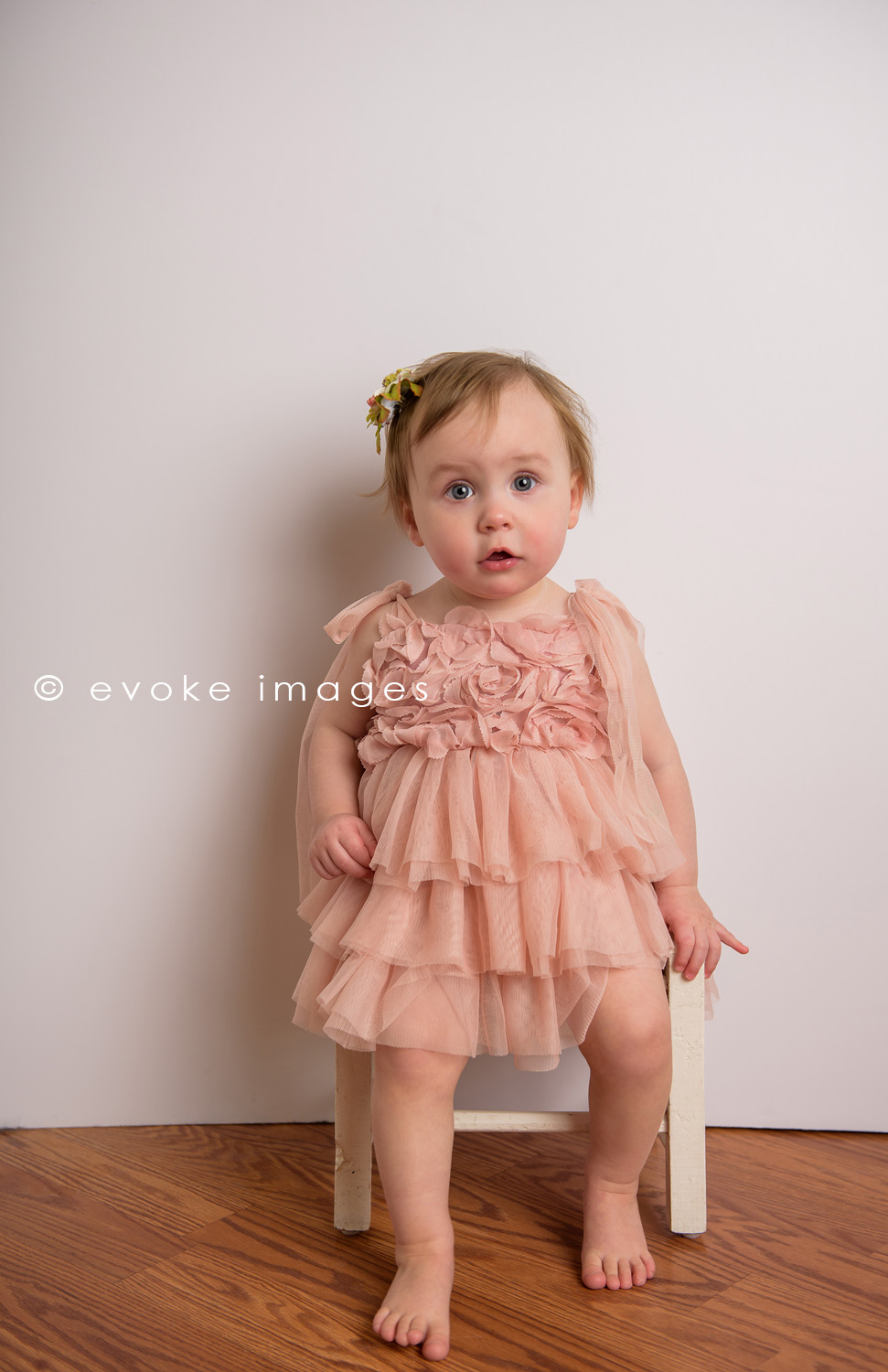 one year old portrait anchorage Alaska studio