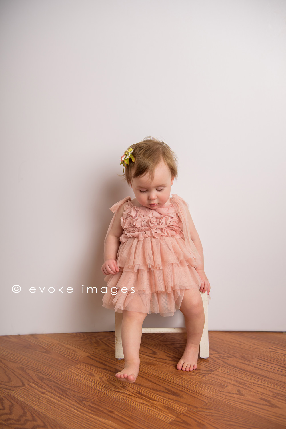 one year old girl portrait anchorage Alaska photography