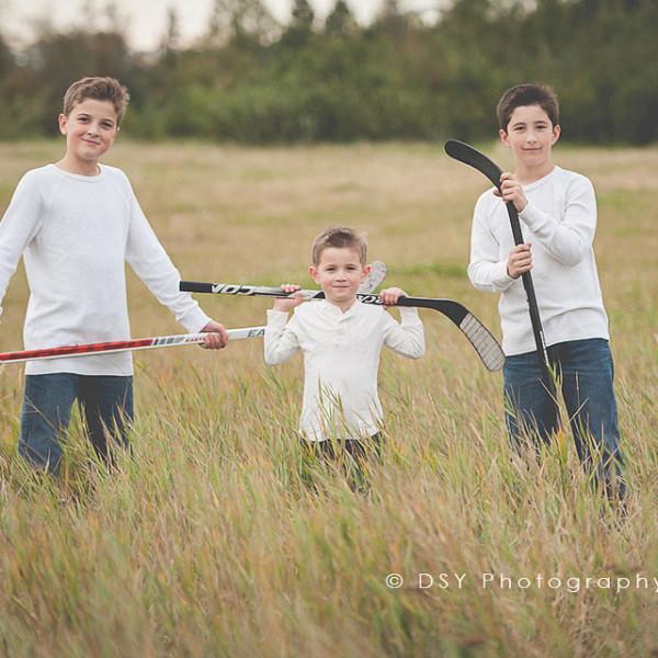 anchorage alaska hockey family photography