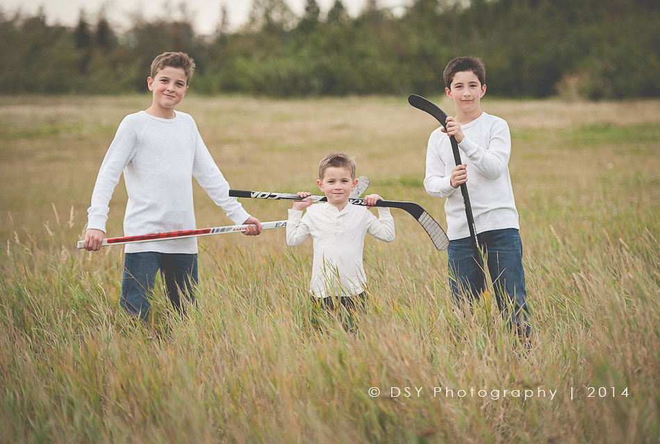 anchorage alaska hockey family photography